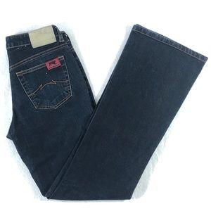 Parasuco Ergonomic Bootcut Jeans Sz 27 Dark Wash